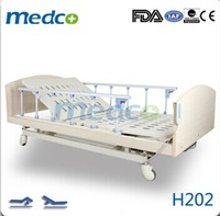 Easy to handle 2 function electric nursing hospital bed