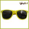 2014 New Style Yellow Sunglasses CE UV400 Promotion Neon Yellow Sunglasses
