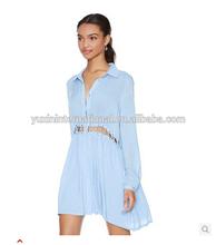 Women blouse plain dress ladies dress maxi dress,womens clothing HDY120