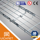 Wire mesh cable tray, cable basket tray