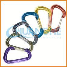 Hot sale! high quality! heart aluminium carabiner