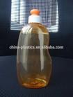 300ML show gel PET bottle/300ml shampoo bottle with pull push cap for baby