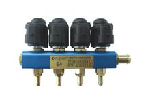 Velocidad rápida CNG / LPG del inyector del carril uso de extremo a extremo a ninguna marca