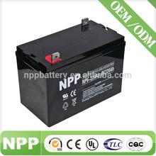 Maintenance Free 6V 220AH Valve Regulated Lead Acid Generator Battery For Generator