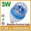 China birthday party blue items LED bulb light 3W