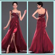 CXL2516 One Shoulder Side Slit Hong Kong Evening Dresses Online