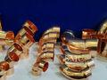 tubo de cobre accesorios de compresión
