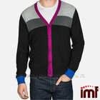 Fashion Button Style Mens Cashmere Cardigan Sweater