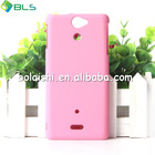 PC case mobile phone hard back cover case for sony v lt25i