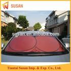 front polyester car sun shade