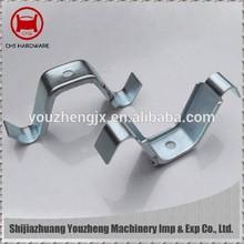 Galvanized steel spring clip