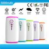 High quality fashion 5000mah portable external power bank