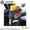 Car Seat Trash Bag And Tissue Holder Organizer