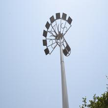 customized numerous solar street light with pole