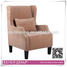 high quality single seater wood sofa chairs