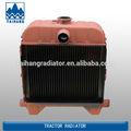 La agricultura grandes caballos de fuerza del tractor piezas de radiadores en el motor de refrigeración del sistema, de latón de cobre del radiador para venta al por mayor