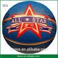 Al aire libre de goma materiales de venta al por mayor de baloncesto de tamaño normal de peso oficialmente 7# pelota de baloncesto