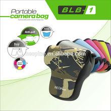 Camera Display Case/Camera Waterproof Bag/NEOpine Camouflage and Bamboo Leaf Camera Neoprene Fashionable DSLR Camera Bag- BLB-1