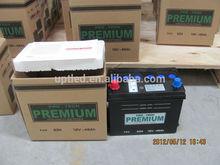 Maintenance free automotive battery 12V45AH