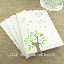 Manufacturer supply pretty pattern hardcover notebook