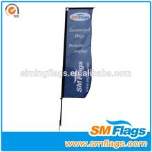 Outdoor Water Base Rectangular Flag Horizontal Banner Stand