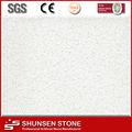 branco puro série de pedra de quartzo artificial falso revestimento de parede