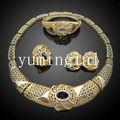 Chapado en oro de dubai de la joyería tradicional africana de la joyería de oro de la joyería