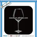 venda quente handmade clara de vinho de cristal de vidro
