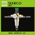 Modular regulada pré filtro, espaço da liga de alumínio material do filtro, cw617n padrão europeu de cobre meio ambiente pré filtro
