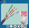 venta de china de alta calidad bajo precio 24 awg utp cca cat5e ethernet de transmisión por cable de alambre