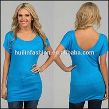 2014 summer high quality china wholesale womens blank t shirt