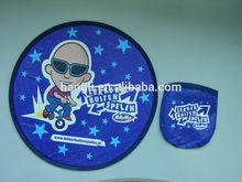 Tyvek foldable frisbee