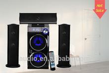 HOT!! high quality dual-bass big sound 3.1 subwoofer system