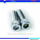 Stainless steel DIN912 standard hexagon socket head cap screws metric fine pitch thread