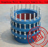 Alibaba supplier China origin VSSJA-1(BF)single flanged limit telescopic expansion joint
