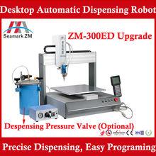 Hot sale Automatic liquid glue dispenser ZM-300ED, Suitable for Glue, solder paste, Silicone,and resin,etc.