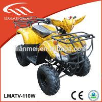 110cc gas four wheeler ATV cheap for kids with CE/EPA racing sports