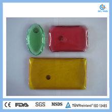 Different size&color magic gel wholesale reusable hand warmer