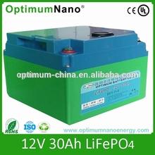 Hot Selling LiFePO4 12v 30ah Battery Packs