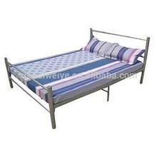 Caliente la venta de europa muebles fuerte doble forjado cama de hierro