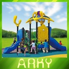 Out door quality LLDPE playground equipment/park plastic play structure
