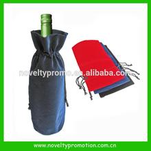 Velvet wine bag