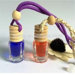 hanging car perfume bottle ,car perfume ,air freshener car perfume bottle