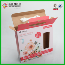 Cheap Recycleble Corrugated Food Box Packaging
