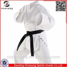 Martial art karate uniform white kimono karate