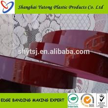Yutong decorative wood strip pvc edge banding