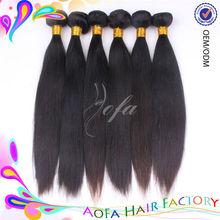 Hot sales can be dyed cheap 100% virgin human brazilian straight hair