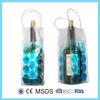 Wine bottle gel cooler bags ice packs