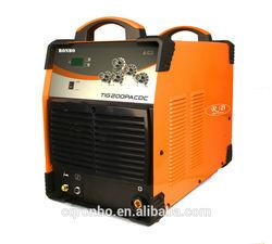 TIG 200P AC/DC inverter welding machine/welder with pulse 2T/4T