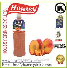 N7-Houssy lychee coconut water fruit juice nata de coco